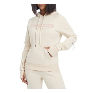 BEBE Sport | Embroidered Logo Hoodie Thumb Holes L